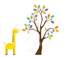 Safari tree clip art set creative clipart collection