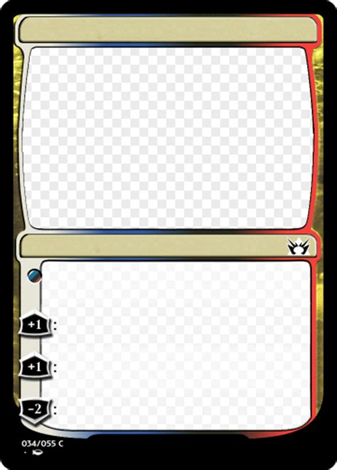 blank magic cards template bug in m15 planeswalker template magic set editor