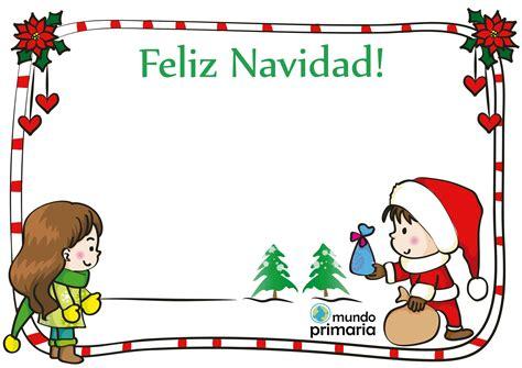 imagenes feliz navidad infantiles postal de dibujos de navidad