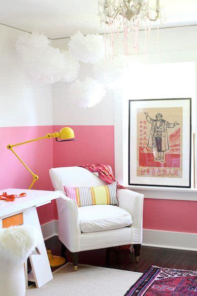 Style bicolore ou l'art du mur à moitié peint !   Marchand de Sable