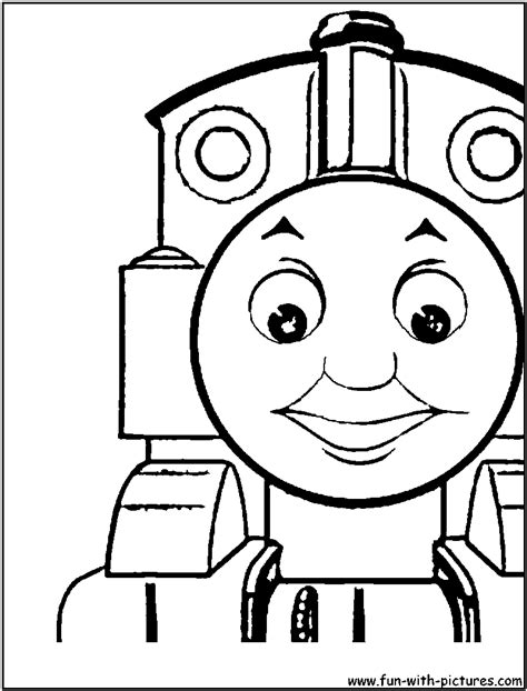 free coloring pages of thomas the tank engine coloring