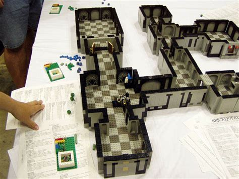 How To Make A Roleplaying On Paper - brickquest a lego inspired dungeon for geeks and