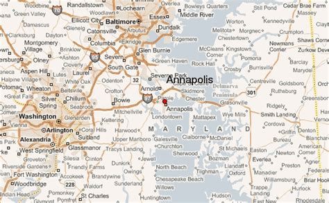 maryland map annapolis annapolis location guide