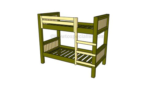 how to build a bunk bed how to build a bunk bed howtospecialist how to build