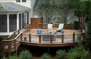 Porch Railing Designs Deck Railing Designs That Mix Looks And Function