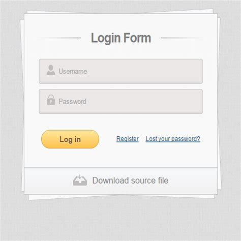 login form html5 template 50 free html5 and css3 login form for your website 2018