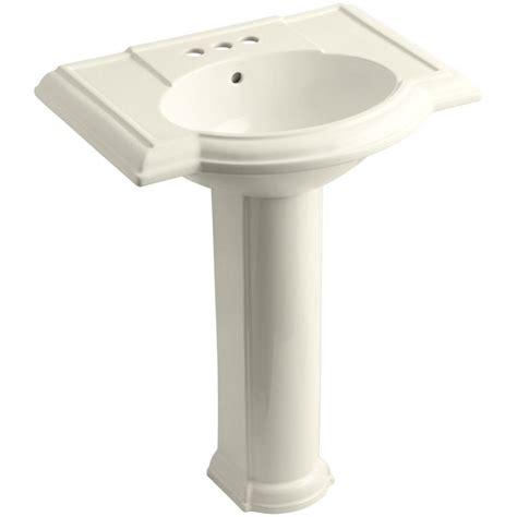 Kohler Pedastal Sink by Kohler Devonshire Vitreous China Pedestal Combo Bathroom