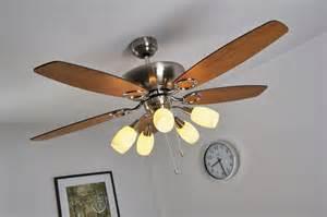 ventilateur de plafond avec luminaire le 224 suspension
