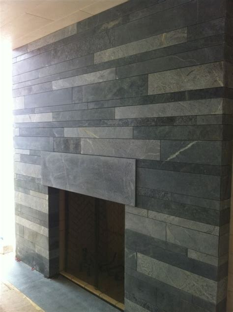 Glass Tile Backsplash Ideas For Kitchens soapstone fireplace living room other metro by berg