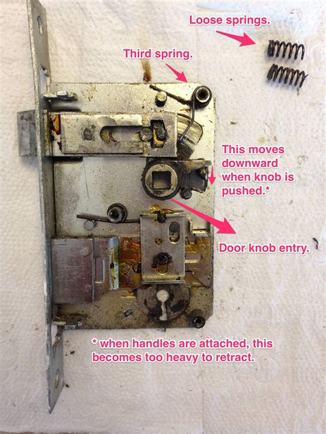 How To Fix A Door Lock by How Do I Repair This Door Lock Home Improvement