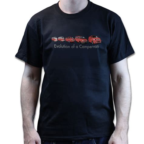 Tshirt Vw Black 2 evolution of a cer t shirt vw t1 t2 t2 t4 t5