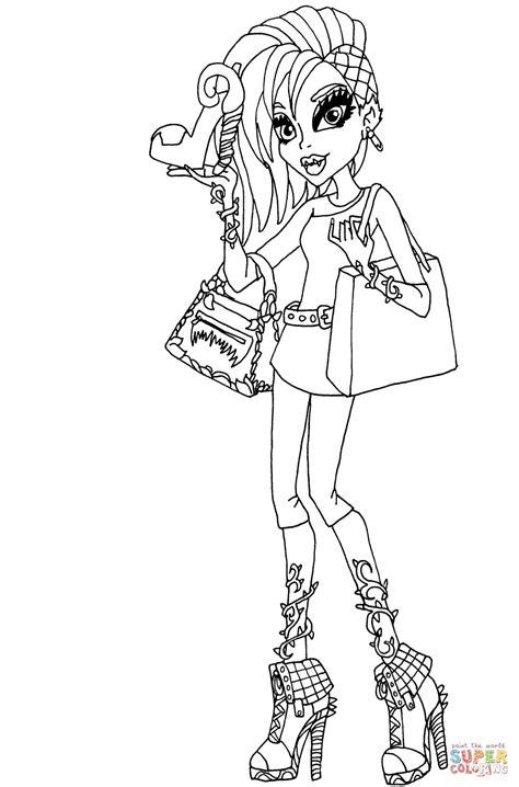 venus mcflytrap  love fashion doll coloring page