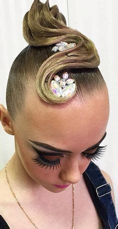 Competition Hairstyles by Competition Hair Styles On Ballroom Hair
