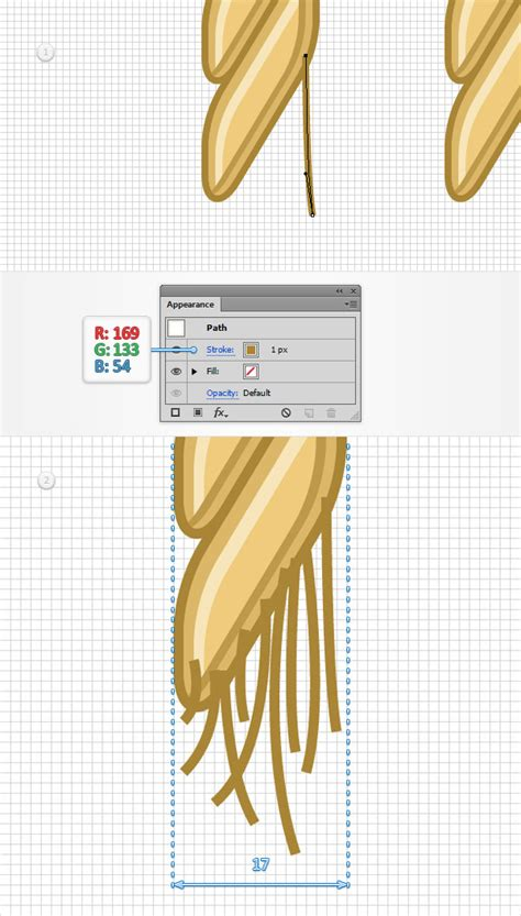 step pattern of brush step use a pattern brush to create a rope text effect in