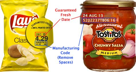 manufacturing date codes frito lay contact us