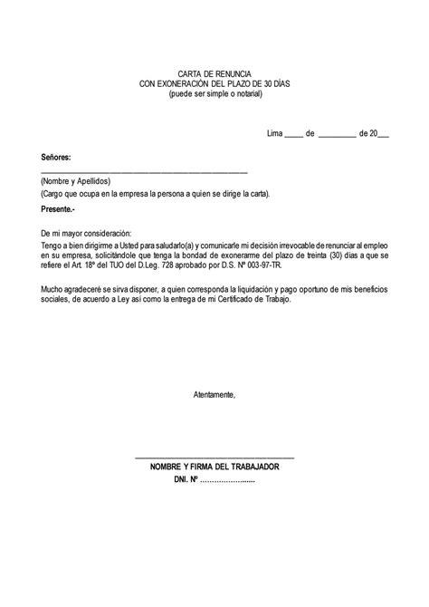 liquidacion renuncia voluntaria 2016 notizie24 carta renuncia exoneracion 30 d 237 as by edi issuu