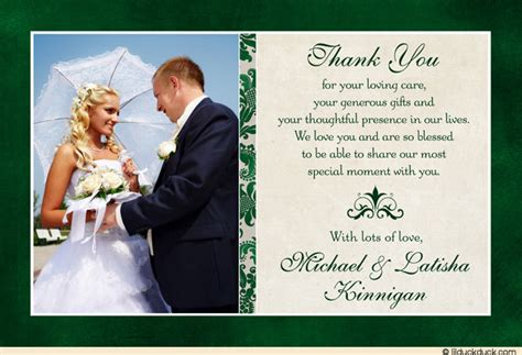 Wedding Thank You Cards by Classic Photo Wedding Thank You Cards Image