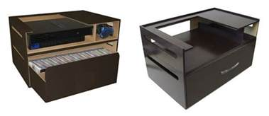 Video Game Storage Unit Kangaroom S Stackable Console Storage Holds Games