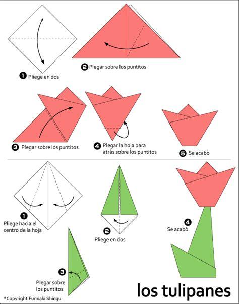 Origami Tulips - origami tulip flower www imgkid the