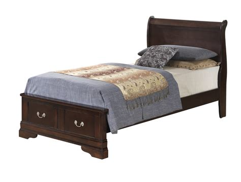 low profile twin bed glory furniture g3125 twin low profile storage bed in