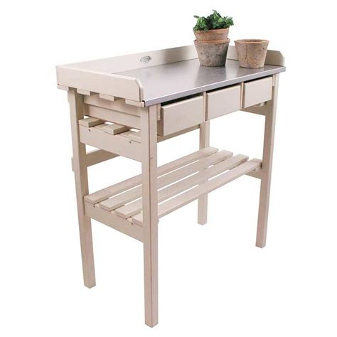 potting bench uk buy small cream potting table the worm that turned