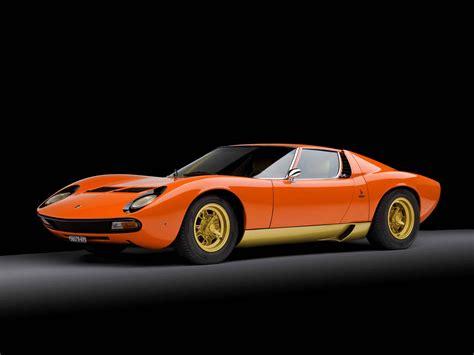 Fastest Lamborghini Lamborghini Miura Quot Fastest Car In The World Quot Carlassic