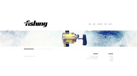 Fishing Templates by Fishing Website Template 46557