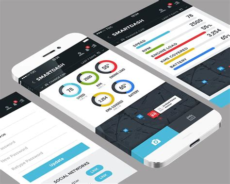 mobile ui designer premium mobile application ui design psd ios android