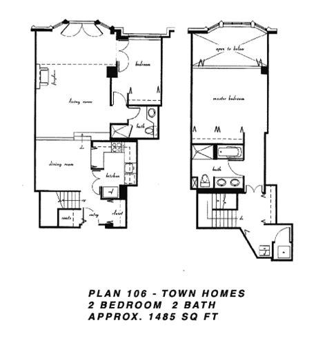 terrace towers floor plans cityfront terrace floor plan 106
