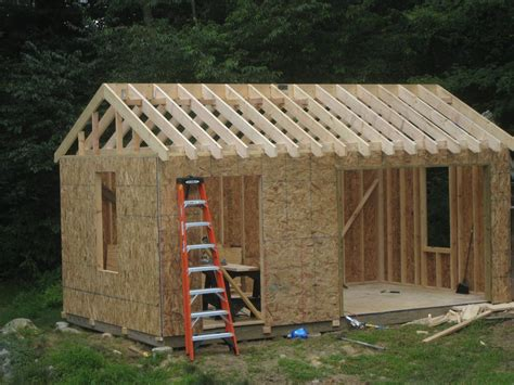 Shed Construction by Damis Storage Sheds Plans 10x12