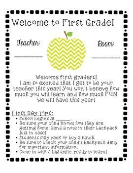 25 best ideas about preschool welcome letter on