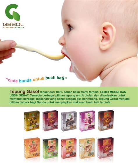 Diskon Tepung Gasol Bubur Bayi Mpasi tepung gasol organik makanan bayi 100 bahan alami