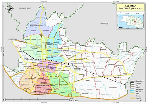 cara mendapat peta jalan kota bandung full dengan google map wilayah bandung