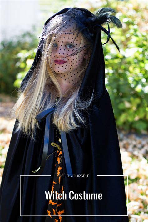 divas diy  girl witch costume
