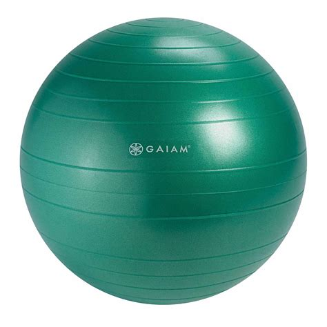 amazoncom gaiam classic balance ball chair ball extra cm balance ball  classic balance