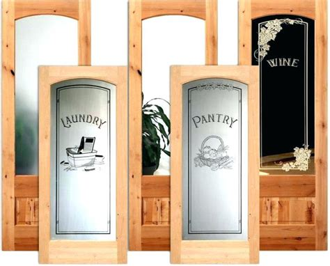 frosted pantry door glass solid core interior doors flush