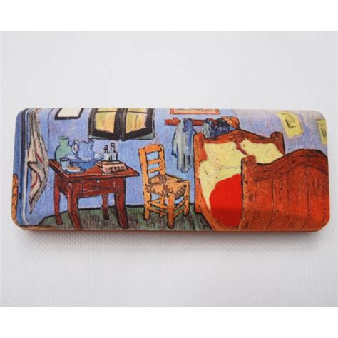 the bedroom by vincent gogh glasses box with the bedroom from vincent gogh
