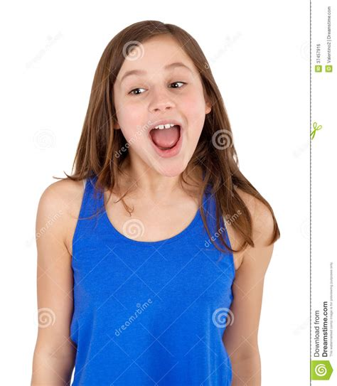 young girls girl screaming stock photo image of shocked shouting