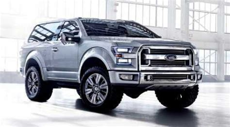 ford bronco 2017 ford bronco exterior interior price specs new