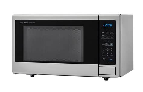 Sharp Microwaves Countertop by Sharp Smc1842cs 1 8 Cu Ft Silver Countertop Microwave
