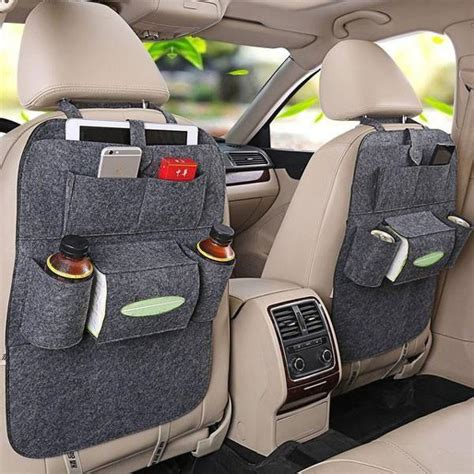 Auto Caddy by Car Seat Organizer Back Seat Storage Changing Products