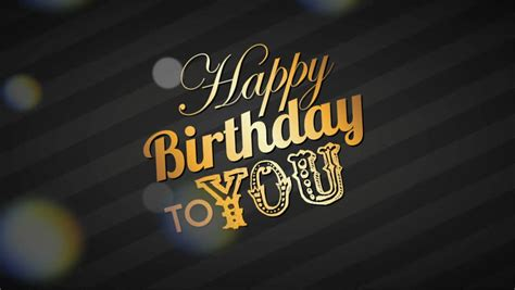 happy birthday design hd happy birthday design video animation stock footage video