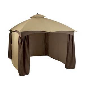 Allen Roth 12 X 10 Gazebo by Allen Roth 10 76 In X 12 9 In X 9 86 Ft Polyester Roof