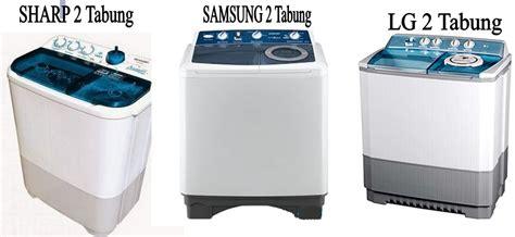 Mesin Cuci Electrolux Dua Tabung jenis jenis mesin cuci gambar kelebihan dan kekurangan