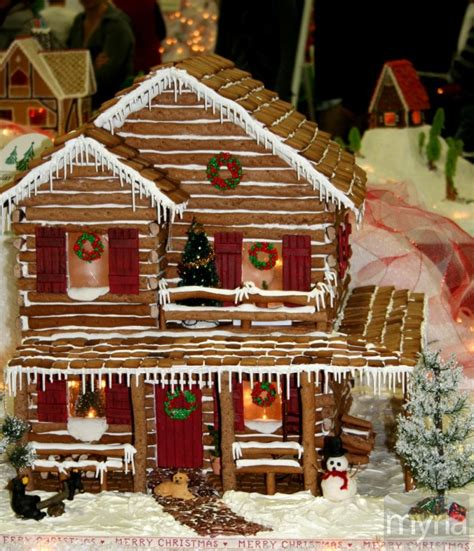 The Gingerbread House In The Gingerbread House Gallery 25 Candy Homes For The Holidays