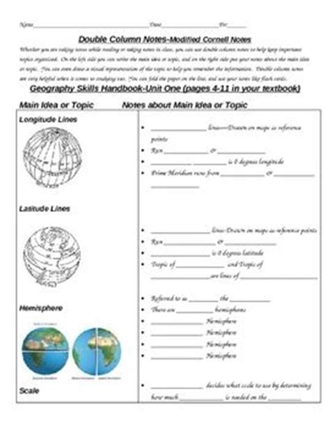 Geography Worksheets High School by Best 25 Map Skills Ideas On Teaching Map