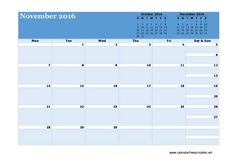 2016 monthly calendar template monthly calendar template 2016 calendar free printable