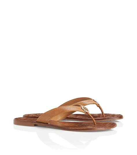 burch brown sandals burch thora sandal in brown lyst