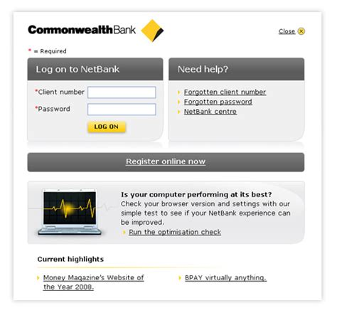Your Netbank Login Page Is Changing Commonwealth Bank