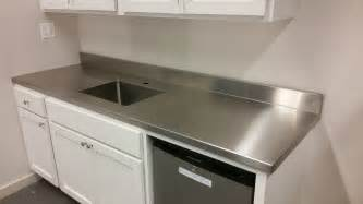 Stainless Steel Countertops Stainless Steel Countertops Custom Metal Home